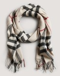 a great scarf from burberry